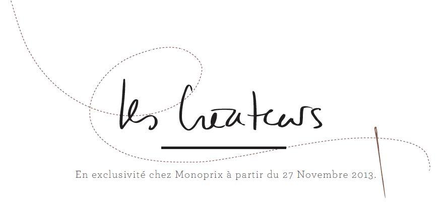 Monoprix_5RobesNoires_Les_Createurs_typo