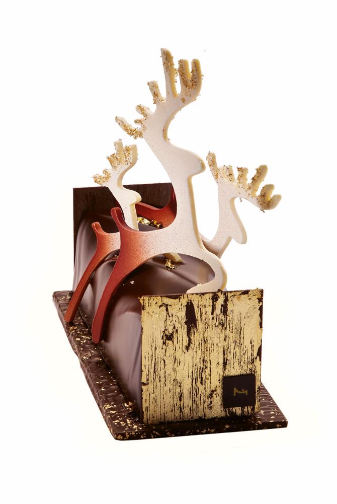 la maison du chocolat r ve un conte de no l b ches de. Black Bedroom Furniture Sets. Home Design Ideas