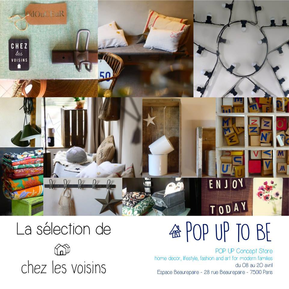 pop up to be le nouveau concept store ph m re lifestyle ma s rendipit. Black Bedroom Furniture Sets. Home Design Ideas