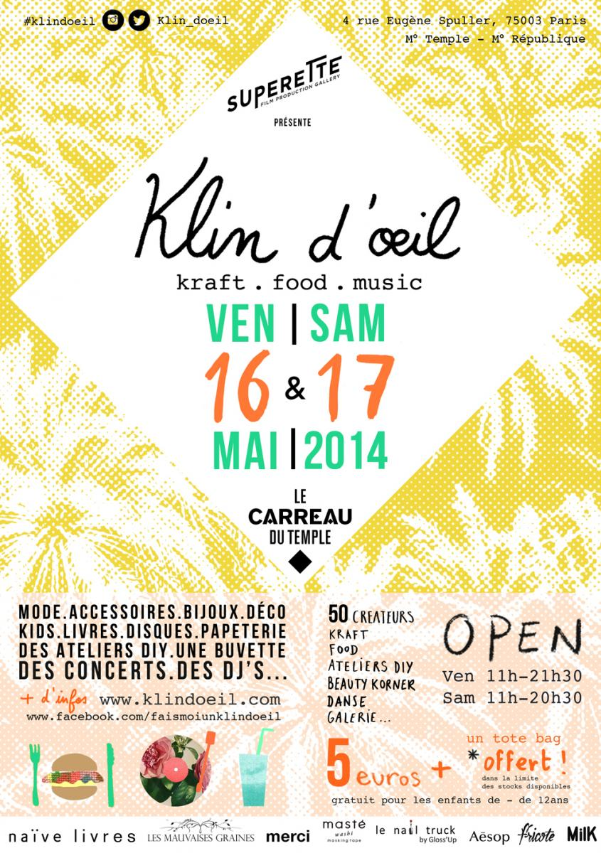 KLINDOEIL_CARREAU_DU_TEMPLE_Affiche