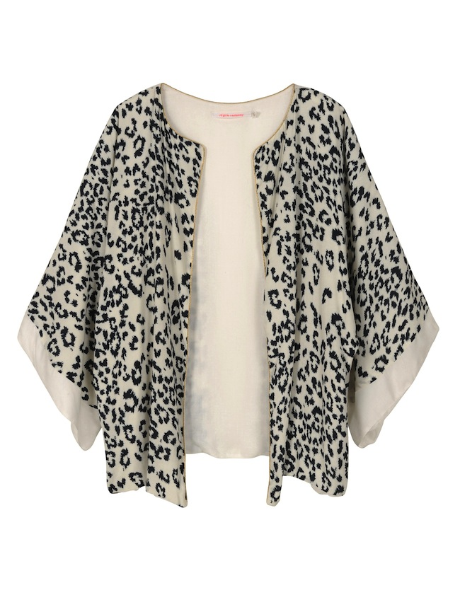 VIRGINIE_CASTAWAY_Kimono_Shine_LEOPARD_packshot