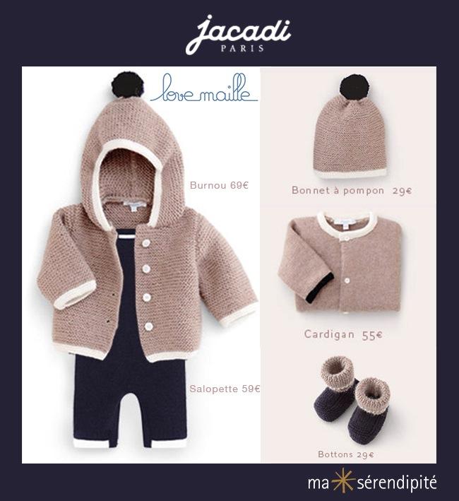 beddad30d7b4 Love Maille de Jacadi   une collection responsable et de partage ...