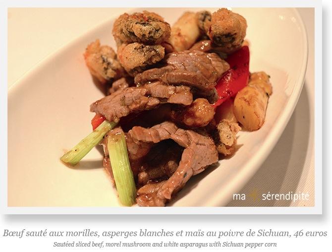 Shangri-La_Shang-Palace_Chef-Mok_poulet-Boeuf-morilles-asperges-blanches-Sichuan