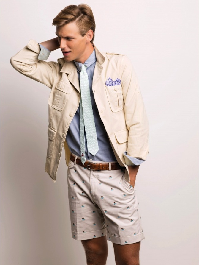 VICOMTE-A_bermuda-homme-brode-beige-ss15