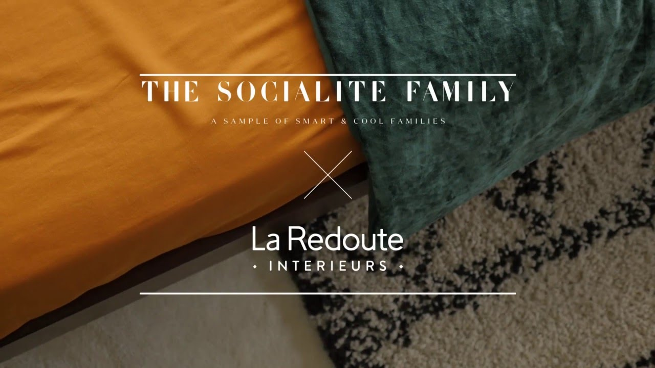 actualit paris the socialite family x la redoute. Black Bedroom Furniture Sets. Home Design Ideas