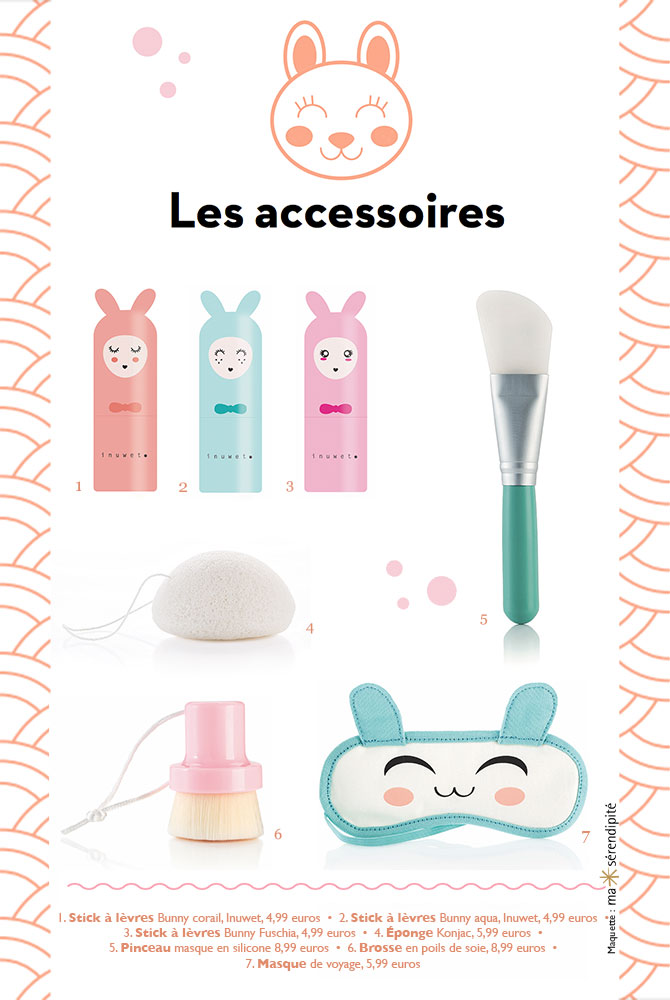 Kawaii beauty Monoprix Les Accessoires
