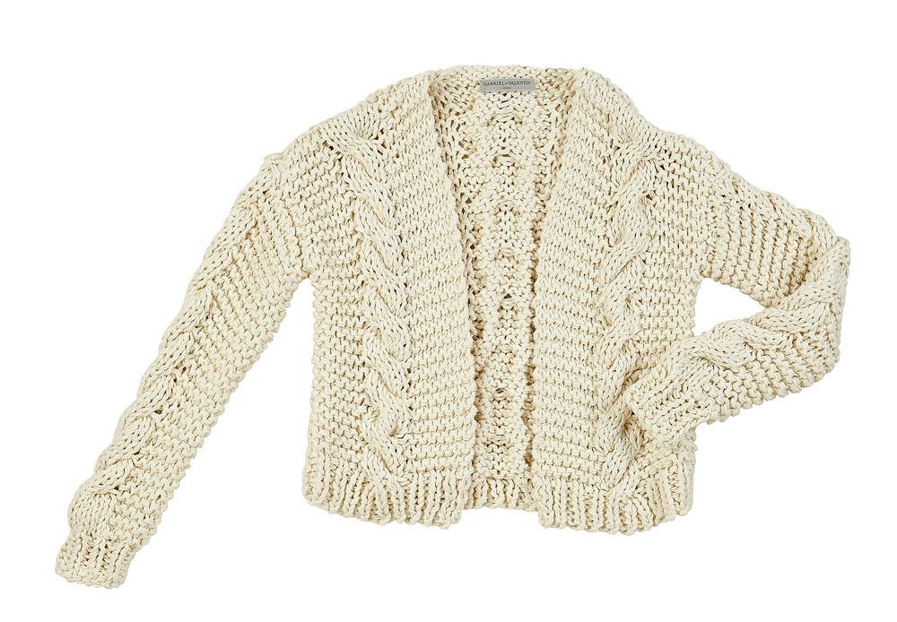 GABRIELETVALENTIN-SS17-Gilet-crochet